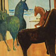 Horse Collection Art Print