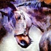 Horse I Will Follow You Art Print
