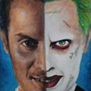 Moriarty And The Joker Art Print