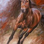 Horse2 Art Print