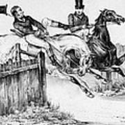 Horseback Riders, C1840 Art Print