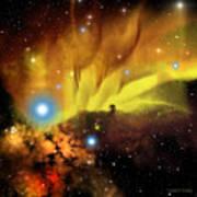 Horsehead Nebula Art Print by Corey Ford