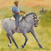 Horseman 3 Art Print