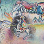 Horseman. St. George Art Print