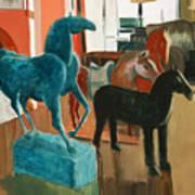Horses Four Art Print