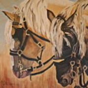 Horseshoe And Dan Art Print