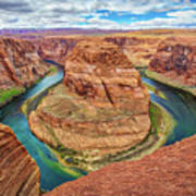 Horseshoe Bend - Colorado River - Arizona Art Print