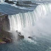 Horseshoe Falls At Niagara Art Print