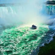 Horseshoe Falls Niagara Art Print