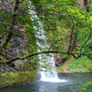 Horsetail Falls, Oregon Art Print
