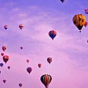 Hot Air Balloon - 13 Print by Randy Muir