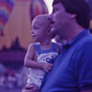 Hot Air Balloon - 6 Print by Randy Muir