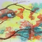 Hot Canyon Winds Art Print