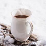 Hot Chocolate Drink Art Print