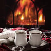 Hot Chocolate Drinks Art Print