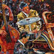 Hot Jazz Series 4 Art Print