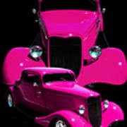 Hot Pink 33  Art Print