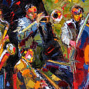 Hot Quartet Art Print