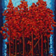 Hot Reds Art Print