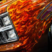 Hot Rod Chevrolet Scotsdale 1978 Art Print