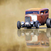 Hot Rod Reflection Art Print