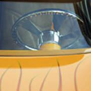 Hot Rod Steering Wheel 2 Art Print
