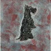 Hot Scottie Art Print