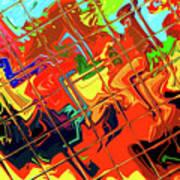 Hot Tile Reflection Art Print