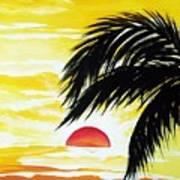 Hot Tropics Art Print