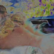 Hot Tub Art Print