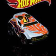 Hot Wheels Rocket Box Art Print