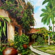 Hotel Camaguey Art Print