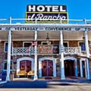 Hotel El Rancho Art Print