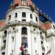 Hotel Negresco In Nice Art Print