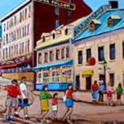Hotel Nelson Old Montreal Art Print