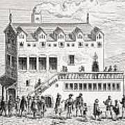 Hotel Of The Chamber Of Accounts In The Art Print