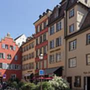 Hotel Suisse Strasbourg France Art Print