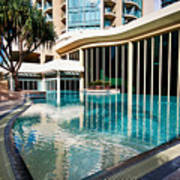 Hotel Swimming Pool Art Print