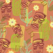 Hour At The Tiki Room Art Print