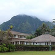House At Hanalei Bay - Kauai - Hawaii Art Print