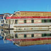 House Boats  Art Print