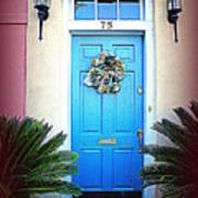 House Door 6 In Charleston Sc  Art Print