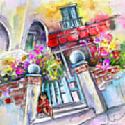 House Entrance In Garrucha Art Print