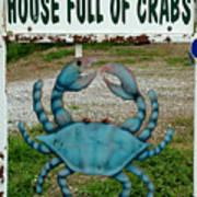 House  Full Of Crabs Art Print