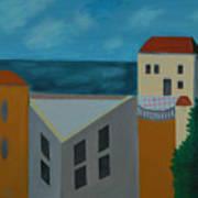 House In Jaffa  Art Print