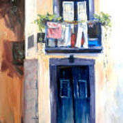 House In Lisbon Art Print