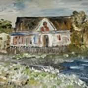 House In Mendocino Art Print