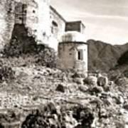 House In Ruins Art Print
