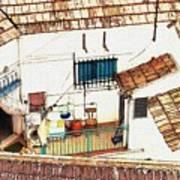 House In Santiago De La Ribera Art Print