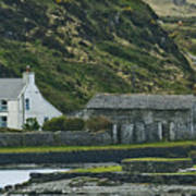 House Near Valencia Island Ireland Art Print